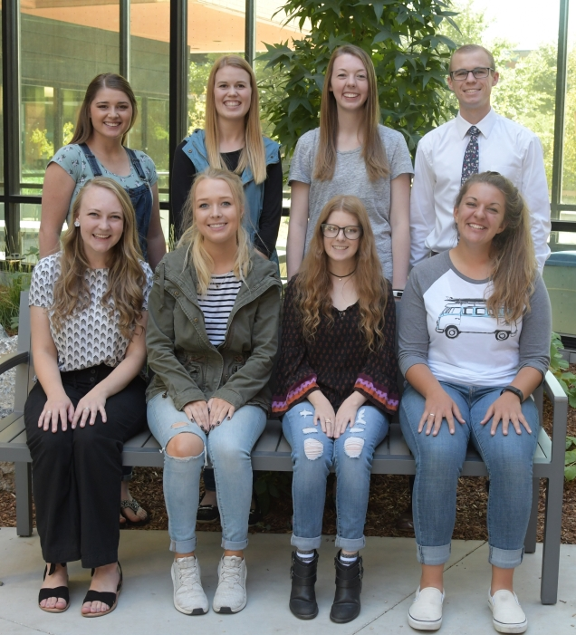 Group photo of 2018-2019 mentors.